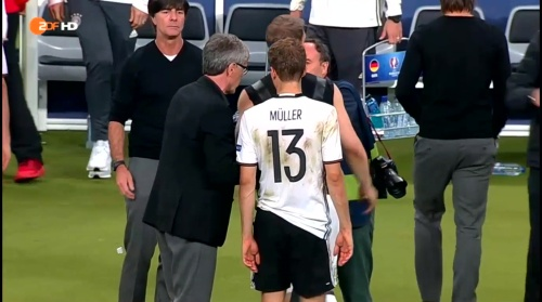 Joachim Löw – Deutschland v Polen 2nd half (EM 2016) 13