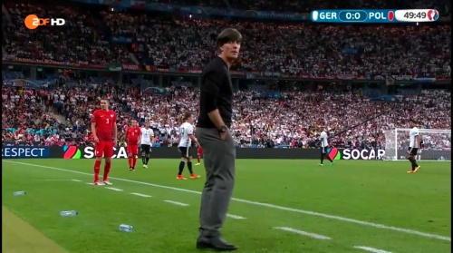 Joachim Löw – Deutschland v Polen 2nd half (EM 2016) 2