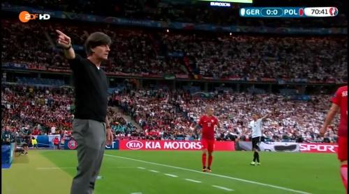 Joachim Löw – Deutschland v Polen 2nd half (EM 2016) 5
