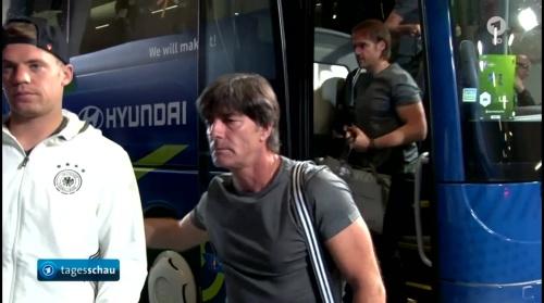 Joachim Löw – Deutschland v Ukraine (EM 2016) 1st half 2