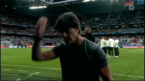 Joachim Löw – Deutschland v Ukraine (EM 2016) 1st half 5