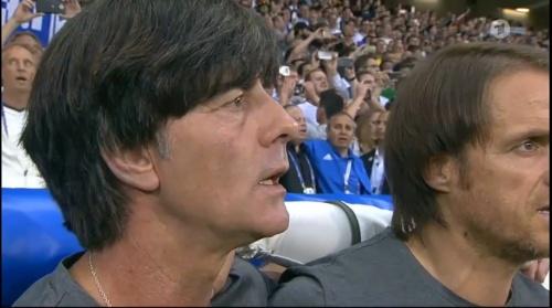 Joachim Löw – Deutschland v Ukraine (EM 2016) 1st half 8