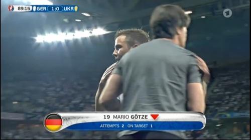 Joachim Löw – Deutschland v Ukraine (EM 2016) 2nd half 11