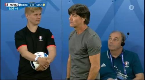 Joachim Löw – Deutschland v Ukraine (EM 2016) 2nd half 12