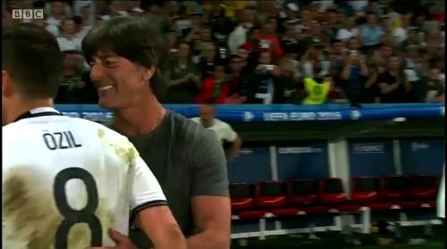 Joachim Löw – Deutschland v Ukraine (EM 2016) 2nd half 17
