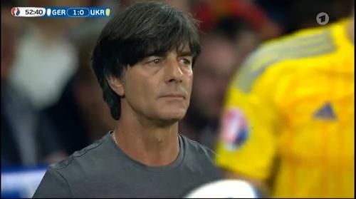 Joachim Löw – Deutschland v Ukraine (EM 2016) 2nd half 3