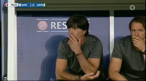 Joachim Löw – Deutschland v Ukraine (EM 2016) 2nd half 6