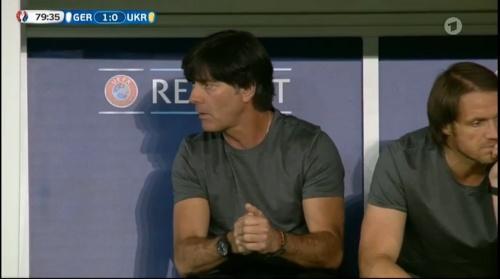 Joachim Löw – Deutschland v Ukraine (EM 2016) 2nd half 8