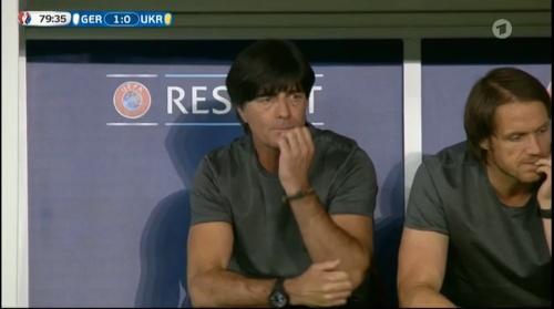 Joachim Löw – Deutschland v Ukraine (EM 2016) 2nd half 9