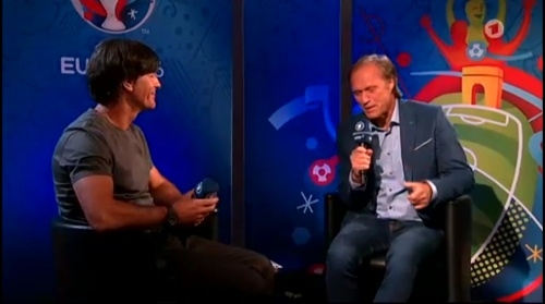 Joachim Löw – Deutschland v Ukraine (EM 2016) post-match interview 1