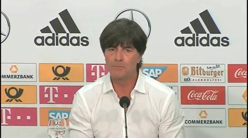 Joachim Löw – Deutschland v Ungarn PK 1