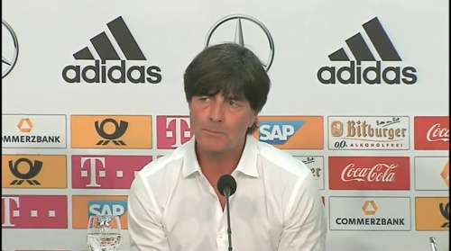 Joachim Löw – Deutschland v Ungarn PK 2