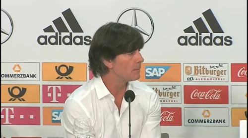 Joachim Löw – Deutschland v Ungarn PK 9