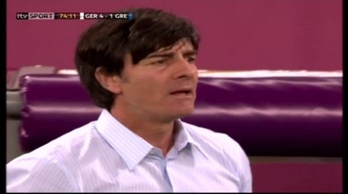 Joachim Löw – Germany v Greece 14