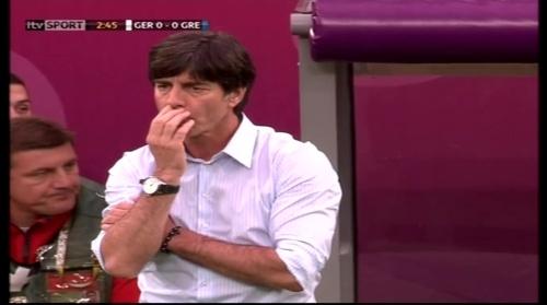 Joachim Löw – Germany v Greece 2