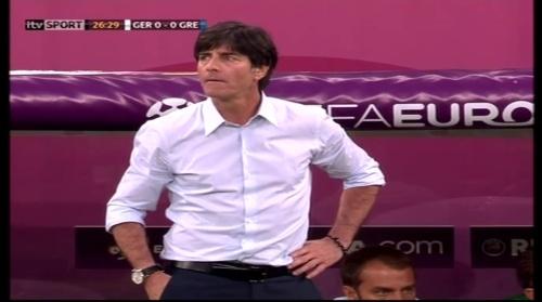 Joachim Löw – Germany v Greece 5