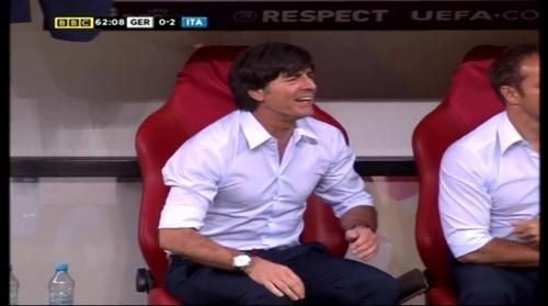 Joachim Löw – Germany v Italy (2012) 13