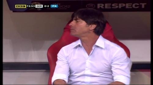 Joachim Löw – Germany v Italy (2012) 14