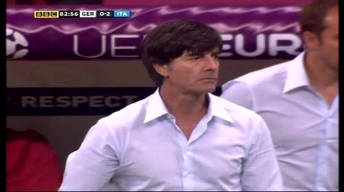 Joachim Löw – Germany v Italy (2012) 17