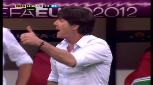 Joachim Löw – Germany v Italy (2012) 19