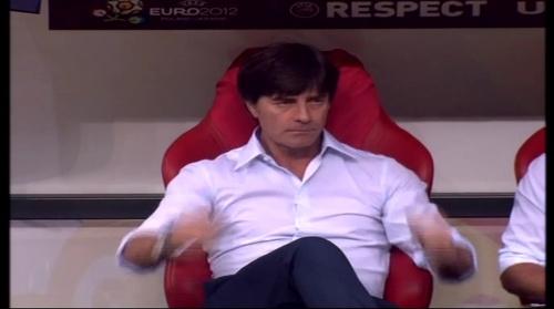 Joachim Löw – Germany v Italy (2012) 2