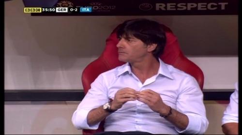 Joachim Löw – Germany v Italy (2012) 9