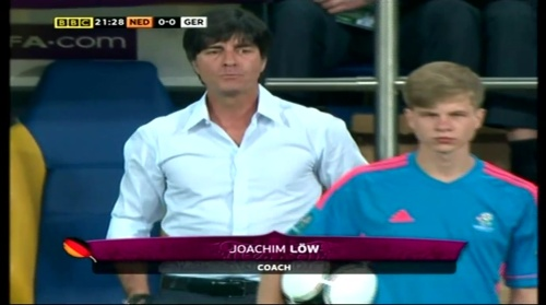 Joachim Löw – Holland v Germany (2012) 1