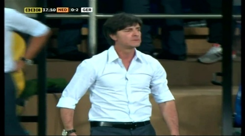 Joachim Löw – Holland v Germany (2012) 10