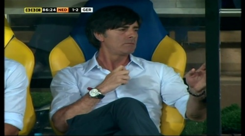 Joachim Löw – Holland v Germany (2012) 13