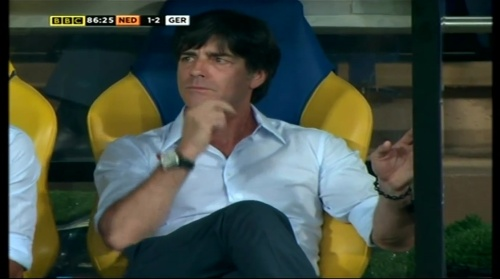 Joachim Löw – Holland v Germany (2012) 14