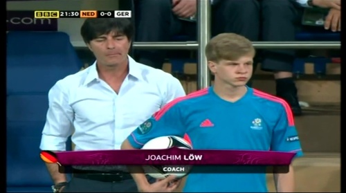 Joachim Löw – Holland v Germany (2012) 2