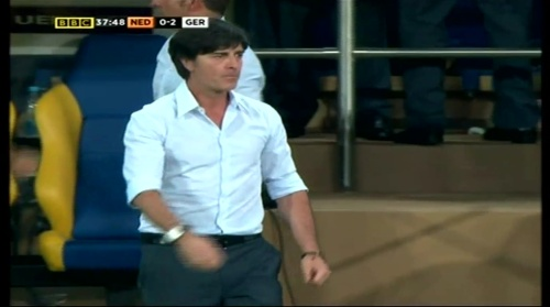 Joachim Löw – Holland v Germany (2012) 7