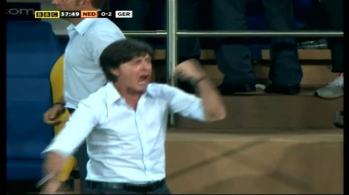 Joachim Löw – Holland v Germany (2012) 9