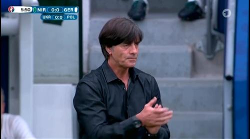 Joachim Löw – Nordirland v Deutschland 1st half (EM 2016) 10