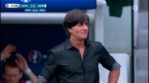 Joachim Löw – Nordirland v Deutschland 1st half (EM 2016) 11