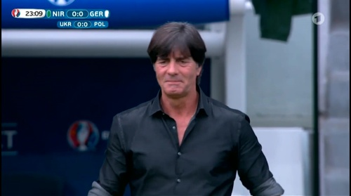 Joachim Löw – Nordirland v Deutschland 1st half (EM 2016) 12