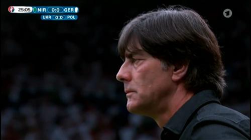 Joachim Löw – Nordirland v Deutschland 1st half (EM 2016) 13