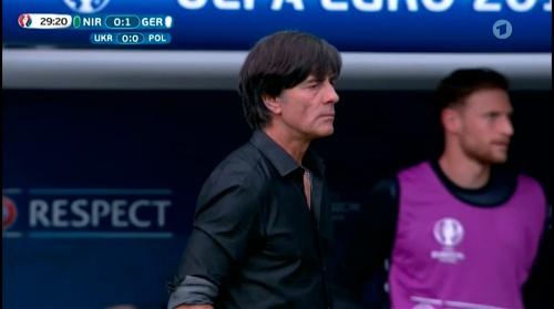 Joachim Löw – Nordirland v Deutschland 1st half (EM 2016) 14
