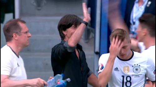 Joachim Löw – Nordirland v Deutschland 1st half (EM 2016) 15
