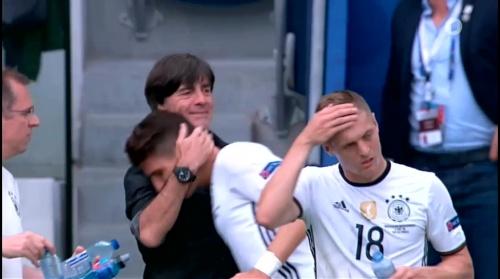 Joachim Löw – Nordirland v Deutschland 1st half (EM 2016) 16