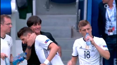 Joachim Löw – Nordirland v Deutschland 1st half (EM 2016) 17