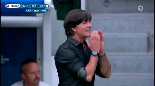 Joachim Löw – Nordirland v Deutschland 1st half (EM 2016) 19