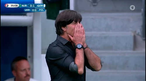 Joachim Löw – Nordirland v Deutschland 1st half (EM 2016) 20