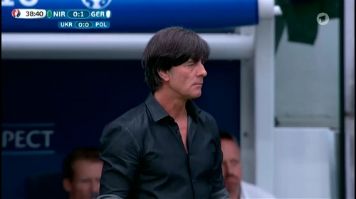 Joachim Löw – Nordirland v Deutschland 1st half (EM 2016) 21