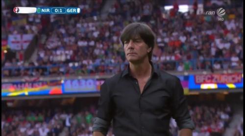 Joachim Löw – Nordirland v Deutschland 1st half (EM 2016) 24