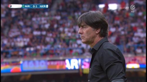 Joachim Löw – Nordirland v Deutschland 1st half (EM 2016) 25
