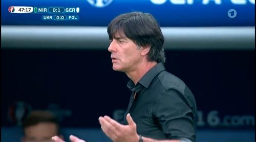 Joachim Löw – Nordirland v Deutschland 2nd half (EM 2016) 1