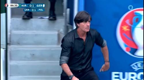 Joachim Löw – Nordirland v Deutschland 2nd half (EM 2016) 11