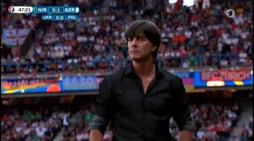 Joachim Löw – Nordirland v Deutschland 2nd half (EM 2016) 2