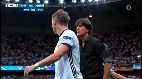 Joachim Löw – Nordirland v Deutschland 2nd half (EM 2016) 5